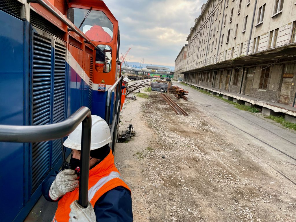 SOLE MANAGER OF SHUNTING OPERATIONS